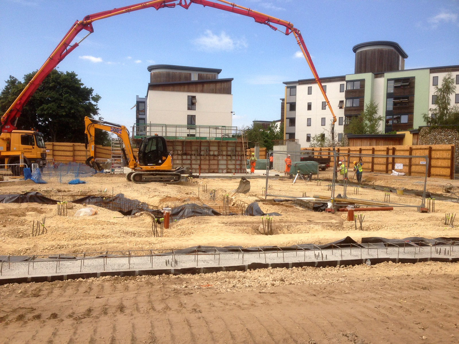 Elmswell Contractors-Foundations Contractor-Commercial-Industrial-Private-Suffolk